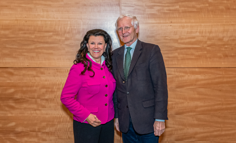 Frau Mag. Frauwallner und Herr Prof. Dr. med. Wolfgang Kuris