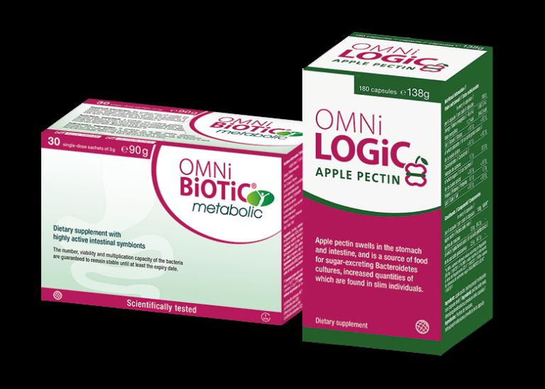 OMNi-BiOTiC® metabolic and OMNi-LOGiC® apple pectin