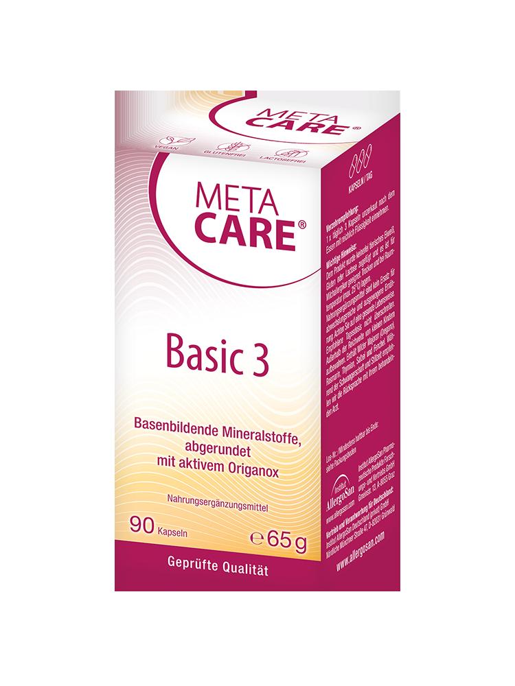 META-CARE® Basic 3 – den Körper richtig entsäuern