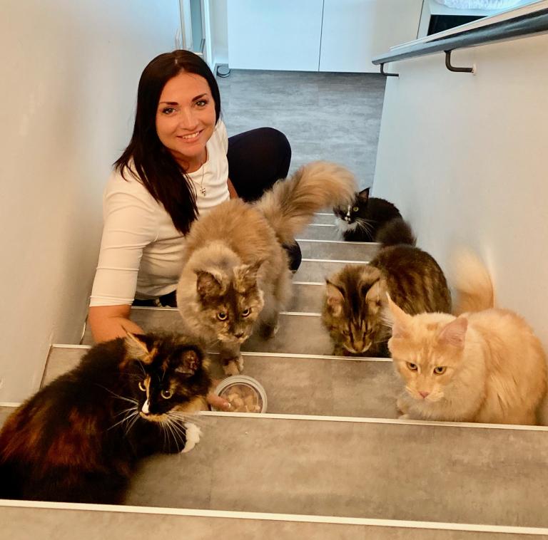 Petra Ott, Katzenverhaltensexpertin